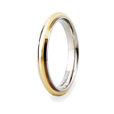 wedding ring unisex jewellery Unoaerre Brillanti Promesse 50 AFC 281 07 10