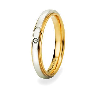 wedding ring unisex jewellery Unoaerre Brillanti Promesse 50 AFC 282/001 43 9