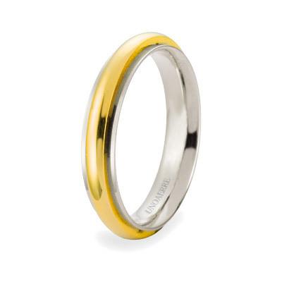 wedding ring unisex jewellery Unoaerre Brillanti Promesse 70 AFC 281 07 9