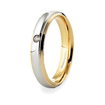 wedding ring unisex jewellery Unoaerre Brillanti Promesse 70 AFC 282/001 43 8