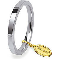 wedding ring unisex jewellery Unoaerre Cerchi Di Luce 25 AFC 2 04 8
