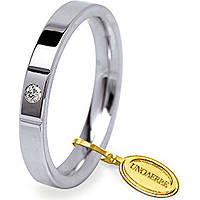 wedding ring unisex jewellery Unoaerre Cerchi Di Luce 35 AFC 2/001 04 17