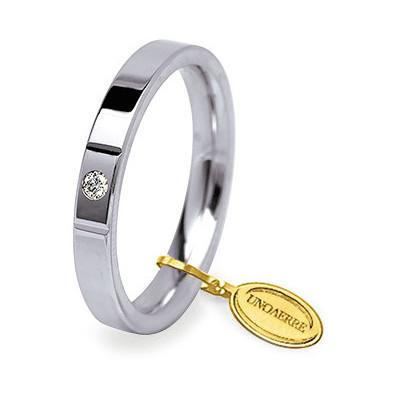 wedding ring unisex jewellery Unoaerre Cerchi Di Luce 35 AFC 2/001 04 8