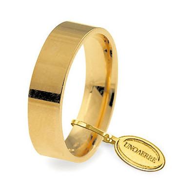 wedding ring unisex jewellery Unoaerre Cerchi Di Luce 50 AFC 111 01 9