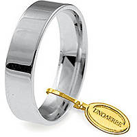 wedding ring unisex jewellery Unoaerre Cerchi Di Luce 50 AFC 111 04 8