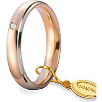 wedding ring unisex jewellery Unoaerre Comode 40 AFC 1/0113 35 26