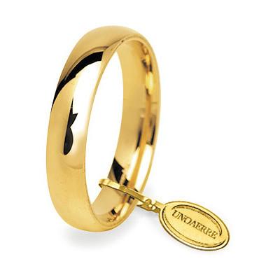 wedding ring unisex jewellery Unoaerre Comode 50 AFC 1 01 9