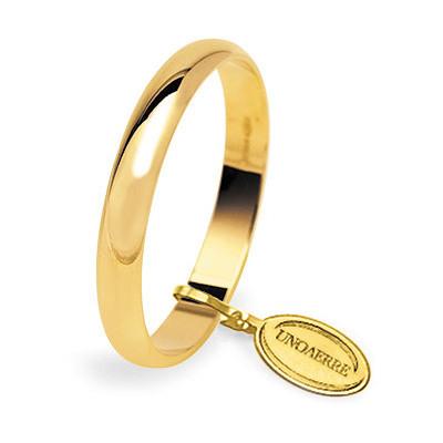 wedding ring unisex jewellery Unoaerre Fedi Classiche 30 AFN 1 01 8
