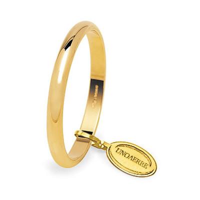 wedding ring unisex jewellery Unoaerre Fedi Classiche 30 AFN 4 01 8