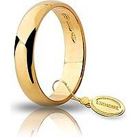 wedding ring unisex jewellery Unoaerre Fedi Classiche 40 AFN 6 01 16
