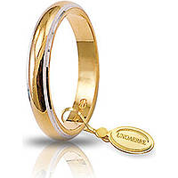 wedding ring unisex jewellery Unoaerre Fedi Classiche 50 AFN 1/01 37 10