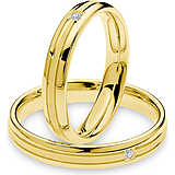 wedding ring woman jewellery Comete Antonio e Cleopatra ANB 1878G M20