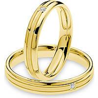 wedding ring woman jewellery Comete Antonio e Cleopatra ANB 1878G M20