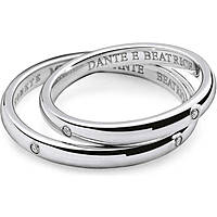 wedding ring woman jewellery Comete Dante e Beatrice ANB 1862B M7
