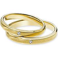 wedding ring woman jewellery Comete Enea e Didone ANB 1869G M20
