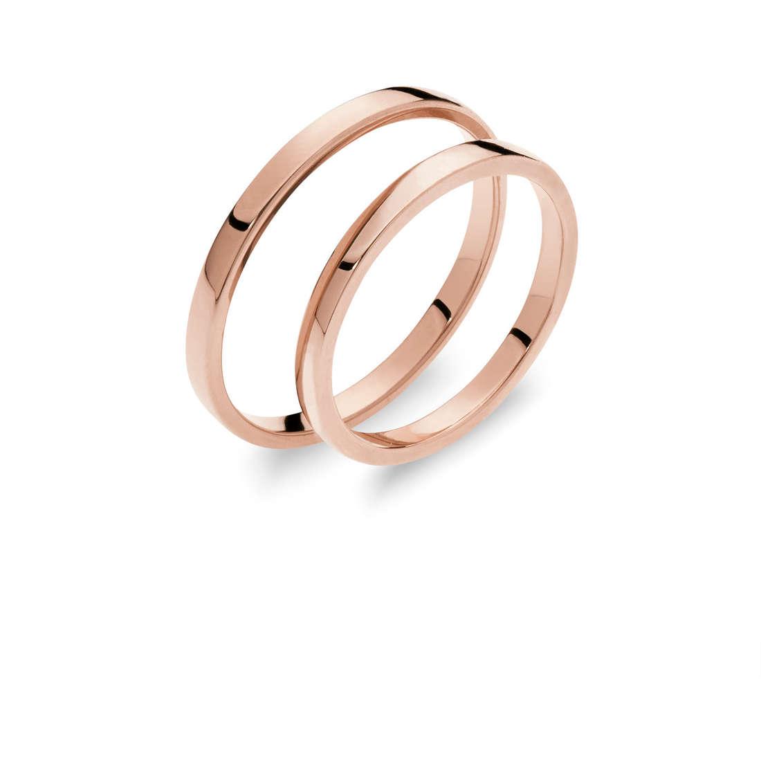 wedding ring woman jewellery Comete Otello e Desdemona ANB 1863R M7