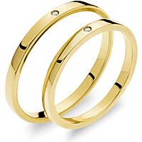 wedding ring woman jewellery Comete Otello e Desdemona ANB 1864G M20