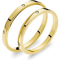 wedding ring woman jewellery Comete Otello e Desdemona ANB 1865G M7