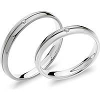 wedding ring woman jewellery Comete Paolo e Francesca ANB 1872BG M20