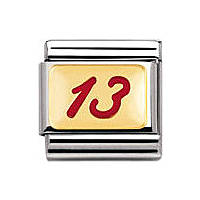 zusammensetzbar unisex Schmuck Nomination Composable 030205/21