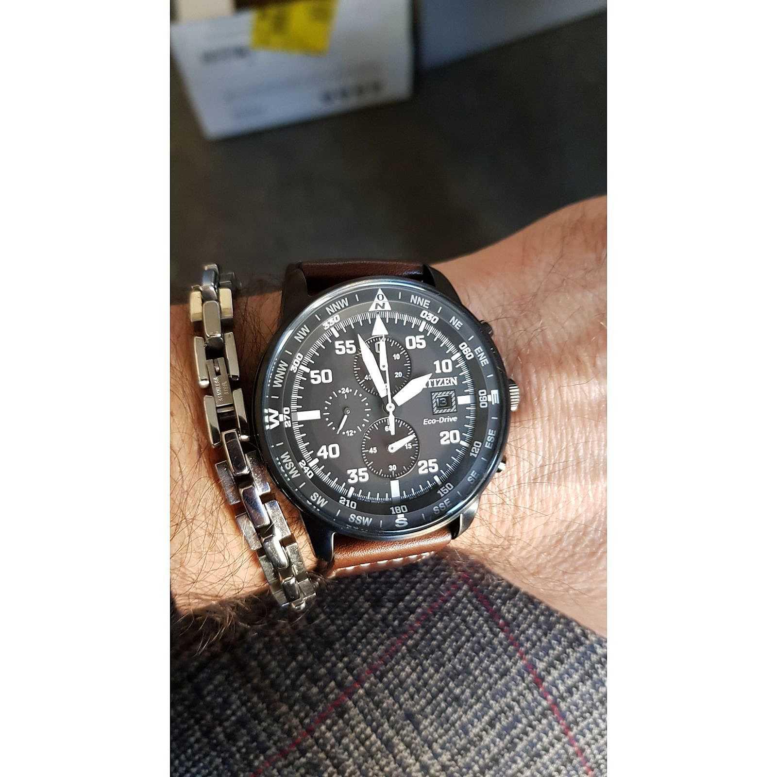 a basso prezzo 777b4 fd019 watch chronograph man Citizen Aviator CA0695-17E ...