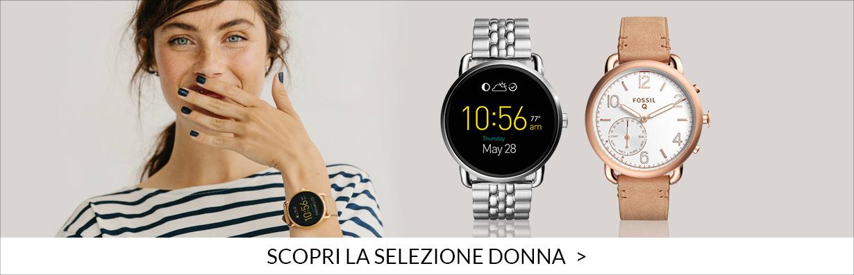 Fossil gioielli orologi donna