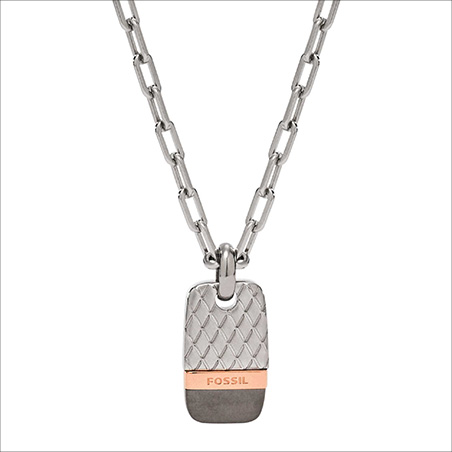 Necklace Man Jewellery Fossil Holiday 15
