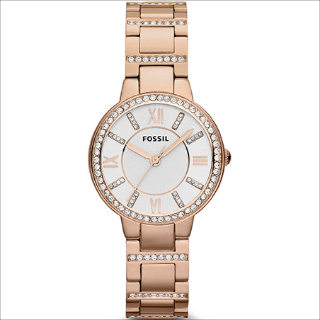 Watch Only Time Woman Fossil