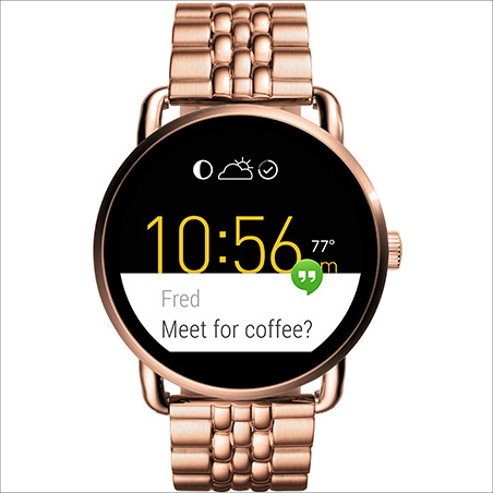 Watch Smartwatch Woman Fossil