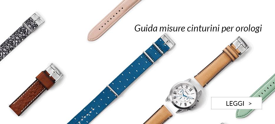 Guida misure cinturini per orologi