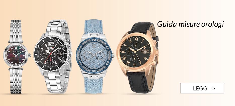 Guida misure orologi