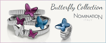 Nomination Butterfly Mädchen FIRMUNG